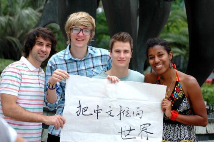 外国正在学习中文的人数超2000万 越来越多外国人学中文的原因